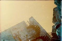 ( . ) Tags: israel lomography turquoise analog fed5b lomochrome jerusalem buildings film