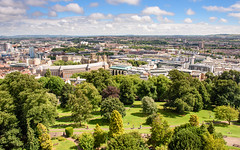 #BrandonHill park, #Bristol (Joe Dunckley) Tags: brandonhill bristol bristolcathedral cabottower cityhall councilhouse england uk architecture bluesky building cathedral church city cityscape fromabove landscape nature officebuilding park sky summer sunny tree urban