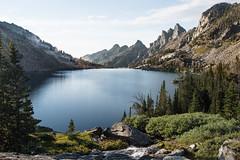 Pinecreek Lake (jrountree333) Tags: bozeman montana yellowstone pine creek lake nature nikon l landscape beauty sky water