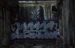 A travs de las ruinas (aljarabo) Tags: graffity ruinas ruins