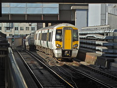 The Climb (Deepgreen2009) Tags: blackfriars gradient steepest 1in29 387 thameslink electrostar station railway train electric london climb