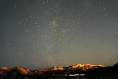 redrock2 (bljakkl) Tags: night stars nevada las vegas galaxy sky mountains scenery lights evening astrophotagraphy red rock