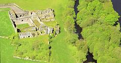 Bridgetown abbey county Cork from the sky (conor lundy) Tags: ireland prieuré priory priorat monastère monastery monasterio monastero kloster klosterruine klasztor kolostor ruine ruina rovine aerialview