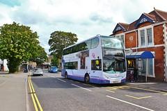 First West of England 33419 WA56FTU - Portishead (South West Transport News) Tags: first west england 33419 wa56ftu portishead
