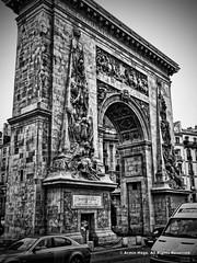 Porte St-Denis (Armin Hage) Tags: portestdenis parisianmonument triumphalarch citygate paris france