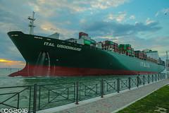 Ital Usodimare IMO: 9196979 (DavideEos) Tags: nave ship porto port venezia venice marghera laguna terminal italia container ital usodimare