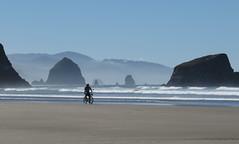 beach biker (carolyn_in_oregon) Tags: oregon pacificocean ecolastatepark coast crescentbeach