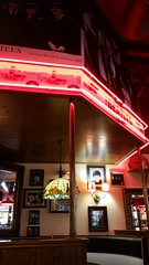 The Beatles themed booth (Adventurer Dustin Holmes) Tags: 2016 fuddruckers springfieldmo springfieldmissouri thebeatles musical music booth restaurant dining placestoeat interior