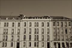 Lisboa, Portugal (Francisco Arago) Tags: lisboa portugal franciscoarago fotografia fotografo dia sepia fachada monokrome janelas arquitetura formas canonlens1635mm canon5dmkii europa lisbon edificao buildings architecture facade europe unioeuropia velhocontinente urban paisagemurbana picture capitaldeportugal