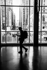 New to the city (christinemcroberts) Tags: commuter commute travel downtown street ontario silhouette city photojournalism streetphotography blackandwhite tourist traveller station union unionstation toronto