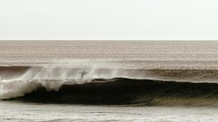 Out of the blue (Pimenthe) Tags: surf wave big nice beautiful grey black white sepia travel trip bali sport water sea seaside shore reef break 169 landscape