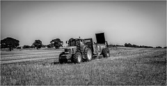 Stainton . (wayman2011) Tags: fujifilmx70 lightroom wayman2011 bwlandscapes mono farming farmmachinery trees rural pennines dales teesdale stainton countydurham uk