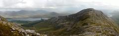 The Glencoaghan horseshoe: Derryclare (Binn Dhoire Chlair) (Mumbles Head) Tags: ireland eire connemara mayo glencoaghan gleannchochan mountains horseshoe thetwelvebens twelvepins