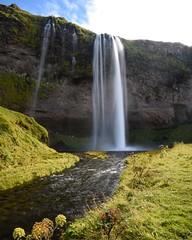 Seljalandsfoss, Iceland (Ben Tuffnell Photography) Tags: exploration iceland waterfall serene blue sun sunshine travel travelling explore seljalandfoss ice land photo photography nikon d750 camera