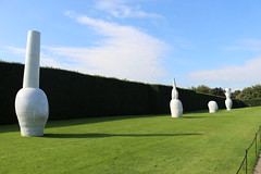 IMG_4695 (alicemaryfox) Tags: yorkshire sculpture park kaws henri moore cattle sheep art discovery water bridge stately home national
