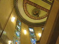 UK - London - Open House London 2016 - Freemasons' Hall - Staircase (JulesFoto) Tags: uk england london openhouselondon2016 freemasonshall artdeco coventgarden staircase