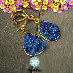 Blue Ti Druzy WM