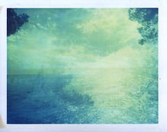awakenings 08 (www.matteovarsi.com) Tags: greatestmagazine awakenings nature doubleexposure blue seashore trees light expiredfilm