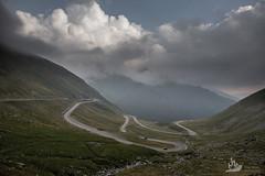 Transfagarasan road in Southern Carpathians (Artem Zhukov) Tags: romania transylvania mountains transfagarasan road sky clouds awesome colors nature summer autumn fall