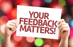 Your Feedback Matters card with colorful background with defocused lights (mariettacityschools) Tags: background bokeh brainstorm business care change comment commenting communicate communication concept constructive counts creative criticism customer feedback idea important innovation inspire inspired leadership matters motivate motivation note openness opinion rate rating share signs solicit solicitation soliciting staff submission submit submitting suggest suggestion teamwork thought valuable value work you your