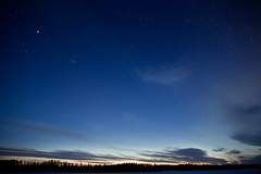 Twilight near Prince George BC (Dan Stanyer (Northern Pixel)) Tags: sky canada night george long exposure bc prince columbia pg british cometpanstarrs