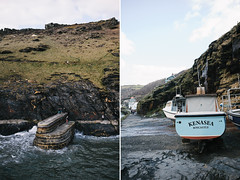 boscastle (Suzi Marshall) Tags: sea 35mm coast spring cornwall harbour quay fishingboats boscastle d700 sundaymoments