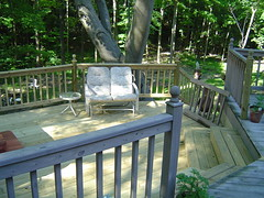 """Split Level Deck With Hot Tub 15 feet off ground • <a style=""""font-size:0.8em;"""" href=""""http://www.flickr.com/photos/51993051@N08/8625411380/"""" target=""""_blank"""">View on Flickr</a>"""
