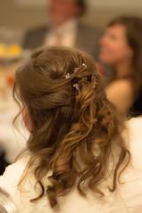(Pixietoria) Tags: wedding hair bride marriage sparkle curl weddingday nuptials jewel weddingreception hairclip alexanderhouse