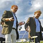 Solarpark mit Politprominenz