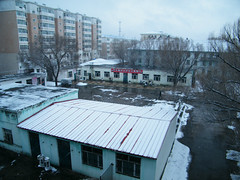 here QRRS dorms in snow. (dabbog) Tags: life god dream yukiko asoh