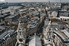 """St. Paul Sees"" - St Pauls Cathedral - London - England (TLMELO) Tags: london londres bus nibus red olimpics games jogos olmpicos bicicleta mulher black preto vermelho street scene inglaterra england unitedkingdon reinounido trafalgar nelson lordnelson bluesky charingcross themall buckinghampalace greenpark stjamesspark white branco bigben clock relgio time tempo sino bell westminsterbridge westminster bridge palace palaceofwestminster riverthames river thames rio tmisa turistas tourist sky u2 parliament parlamento british ferriswheel rodagigante londoneye eye jubilee queen elisabeth 60 years jubileu aqurio aquarium people westminsterabbey panorama londonstreets night noite lua moon"