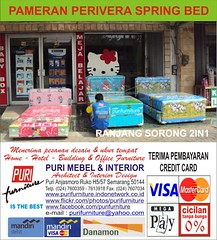 PURI PERIVERA IN STORE PROMO (1) (PURI SPRING BED CENTER) Tags: hello bird florence spring bed teddy furniture hellokitty interior central champion spiderman kitty mickey romance bee american elite koala pooh teddybear angry headboard mickeymouse winniethepooh simmons minniemouse serta 3in1 per 2in1 mattress quantum divan alga puri busa tomjerry sealy superland dreamline pegas slumberland kasur bigland springbed dipan dunlopillo angrybirds mebel harmonis shawnthesheep everdream kingkoil enzel airland springair bigpoint comforta protectabed sandaran therapedic guhdo kasurbusa purifurniture kasurper comfortaspringbed ladyamericana perivera periveraspringbed