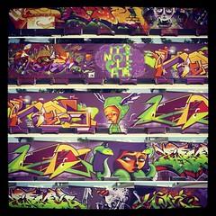 (chikita zgz) Tags: muro wall tattoo ink graffiti zaragoza tatu chikita ladolcevitatattoo flickrandroidapp:filter=none