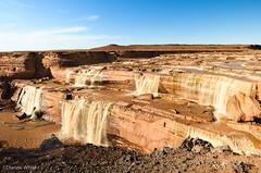 Chocolate Falls (xTexAnne) Tags: arizona water waterfalls grandfalls chocolatefalls nikond7000 diannewhite