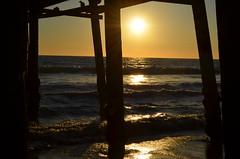 (marinahmuller) Tags: santa sunset sea beach pier monica