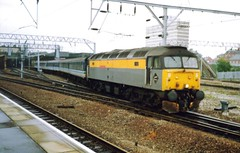 Crewe, 19th September 1992 (elkemasa) Tags: crewe 1992 class47