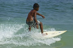 Surf at Ipanema Beach 2013 (alobos Life) Tags: boy sea brazil cute sol praia beach boys sport rio brasil de fun outdoors happy mar nice surf child janeiro body candid garoto playa guys surfing enjoy deporte brazilian alegria chico nio olas