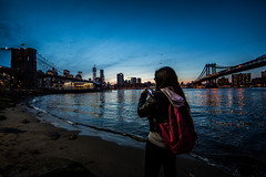 Caughtgramming @surndrdabooty_ru (Denn-Ice) Tags: nyc newyorkcity sea portrait urban ny newyork water brooklyn night canon manhattan dumbo brooklynbridge manhattanbridge uwa brooklynbridgepark ultrawideangle canon5dmarkiii instagram canon14lii