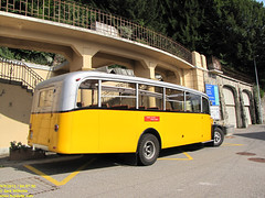 1951 Saurer L4C (busdude) Tags: bus switzerland post swiss ag postauto buse postbus saurer