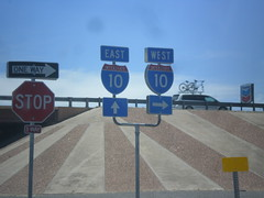 BL-10 West at I-10 (sagebrushgis) Tags: sign texas shield i10 vanhorn freewayjunction bl10vanhorn