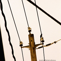 POWER (marc falardeau) Tags: urban toronto canada cold lines spring colours power telephone pole april amateur parkdale nikom d300s westofyonge