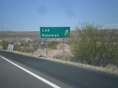 I-25 North - Exit 71 (sagebrushgis) Tags: newmexico sign intersection i25 biggreensign sierracounty freewayjunction
