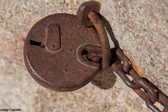 Candado (JCPhoto +1.500.000 Visitas/Visits Thanks to all) Tags: puerta cadenas nikon lock  cerradura cadena candado candados josepcayuela