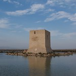 Tower in Salt Pans, Santa Pola