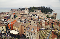 Sirmione (Ana Guisado) Tags: italy tourism italia medieval fromabove sirmione lagodigarda gardasee