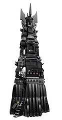LEGO The Lord of the Rings 10237 - Tower of Orthanc (THE BRICK TIME Team) Tags: brick tower grey lego lord lotr rings gandalf turm herr orc ringe saruman urukhai pitmaster grima orthanc wormtongue 10237