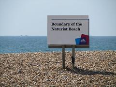 UK - East Sussex - Brighton - Passing Brighton Naturist Beach (JulesFoto) Tags: uk england brighton eastsussex ramblers naturistbeach westlondonramblers