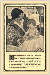 1901 August- The Salesman may have offerred a sented fancy soap, . . . Ivory is Pure.    -   Illustrated by Jessie Willcox Smith (carlylehold) Tags: opportunity history robert st mobile louis email here smartphone join stories tmobile happens signup haefner solavei haefnerwirelessgmailcom