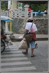 chicharon street vendor (leciram) Tags: philippines streetvendor puertoprincesa palawan maricel chicharon filippine leciram