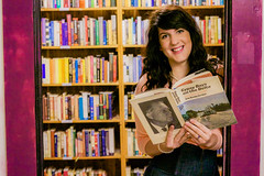 Recycled Books (snkphotography) Tags: life door brown amanda girl smile bar stairs laughing pose hair walking photography reading book nicole store texas simone floor heart recycled library graduation banjo down books victoria frame blonde lying denton andys morrow my heartmylifephotography